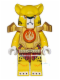 Minifig No: loc081  Name: Lundor - Fire Chi and Heavy Armor