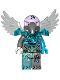Minifig No: loc088  Name: Vornon - Trans-Light Blue Heavy Armor