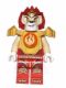 Minifig No: loc093  Name: Laval - Fire Chi, Heavy Armor