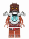 Minifig No: loc094  Name: Crug - Flat Silver Heavy Armor