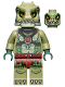 Minifig No: loc123  Name: Crocodile Warrior 2