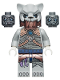 Minifig No: loc125  Name: Saber-Tooth Tiger Warrior 1