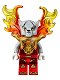 Minifig No: loc129  Name: Worriz - Armor Breastplate, Flame Wings