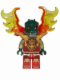 Minifig No: loc150  Name: Cragger - Armor Breastplate, Flame Wings