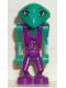 Minifig No: lom007  Name: LoM Martian - Cassiopeia