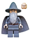 Minifig No: lor001  Name: Gandalf the Grey - Wizard / Witch Hat