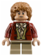 Minifig No: lor030  Name: Bilbo Baggins - Dark Red Coat