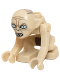 Minifig No: lor031  Name: Gollum - Narrow Eyes