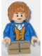 Minifig No: lor057  Name: Bilbo Baggins - Blue Coat