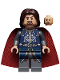 Minifig No: lor066  Name: Aragorn, Red Cape