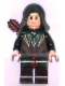 Minifig No: lor078  Name: Mirkwood Elf Archer - Dark Green Outfit, Dual Sided Head