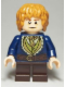 Minifig No: lor093  Name: Bilbo Baggins - Dark Blue Coat