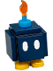 Minifig No: mar0014  Name: Bob-omb - Scanner Code with Yellow Lines