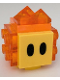 Minifig No: mar0038  Name: Lava Bubble - Scanner Code with Blue Lines