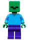 Minifig No: min010  Name: Zombie, Minecraft