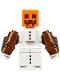 Minifig No: min043  Name: Snow Golem - Head Post