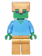 Minifig No: min050  Name: Zombie - Gold Legs and Helmet