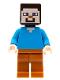 Minifig No: min056  Name: Steve - Dark Orange Legs