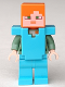 Minifig No: min070  Name: Alex - Medium Azure Armor