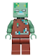Minifig No: min088  Name: Drowned Zombie