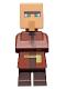 Minifig No: min092  Name: Villager - Dark Tan Pouch