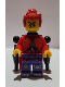 Minifig No: mk006  Name: Red Son with Backpack