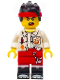 Minifig No: mk007  Name: Monkie Kid - White Shirt