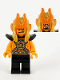 Minifig No: mk026  Name: Gold Horn Demon