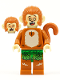 Minifig No: mk032  Name: Baby Monkey Kid