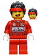 Minifig No: mk045  Name: Monkie Kid - Racing Suit