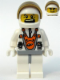 Minifig No: mm011  Name: Mars Mission Astronaut with Helmet and Dual Sided Head