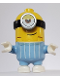 Minifig No: mnn001  Name: Minion Stuart - Bright Light Blue Jumpsuit