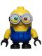 Minifig No: mnn006  Name: Minion Bob - Blue Overalls
