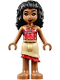 Minifig No: moa004  Name: Moana - Tan Skirt