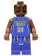 Minifig No: nba005  Name: NBA Ray Allen, Milwaukee Bucks #34