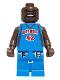 Minifig No: nba017  Name: NBA Jerry Stackhouse, Detroit Pistons #42