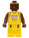 Minifig No: nba022  Name: NBA Shaquille O'Neal, Los Angeles Lakers #34 (Home Uniform)