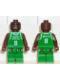 Minifig No: nba024  Name: NBA Antoine Walker, Boston Celtics #8 (Green Uniform)