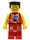 Minifig No: nba026  Name: NBA player, Number 8