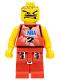 Minifig No: nba028  Name: NBA player, Number 2