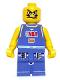 Minifig No: nba029  Name: NBA player, Number 5