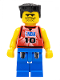 Minifig No: nba031  Name: NBA player, Number 10 with Blue Legs