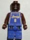 Minifig No: nba035  Name: NBA Kobe Bryant, Los Angeles Lakers #8 (Road Uniform)