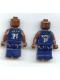 Minifig No: nba036  Name: NBA Kevin Garnett, Minnesota Timberwolves #21 (Dark Blue Uniform)