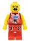 Minifig No: nba041  Name: NBA player, Number 6