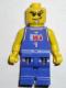 Minifig No: nba043  Name: NBA player, Number 1