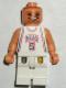 Minifig No: nba047  Name: NBA Jason Kidd, New Jersey Nets #5 (White Uniform)