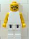 Minifig No: nba050  Name: NBA  Player White Torso, White Legs #1