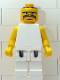 Minifig No: nba052  Name: NBA  Player White Torso, White Legs #3