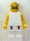 Minifig No: nba053  Name: NBA  Player White Torso, White Legs #4